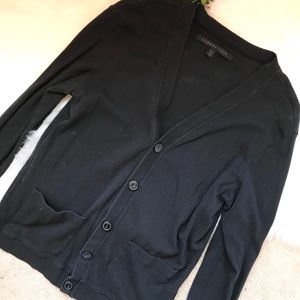 MENS black Metropark Standard Cloth cardigan